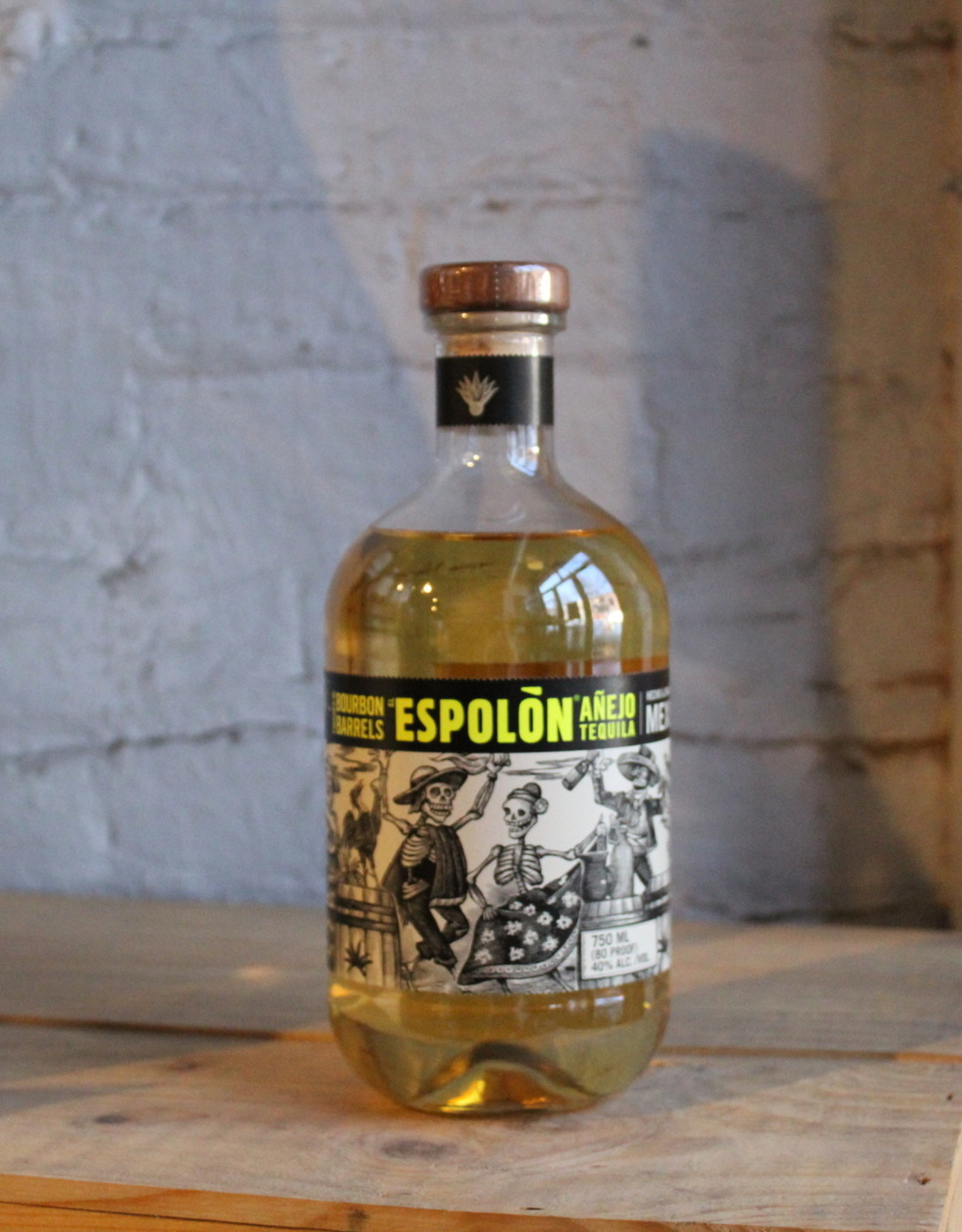 Espolon Tequila Anejo Bourbon Barrel Finished - Jalisco, Mexico (750ml)