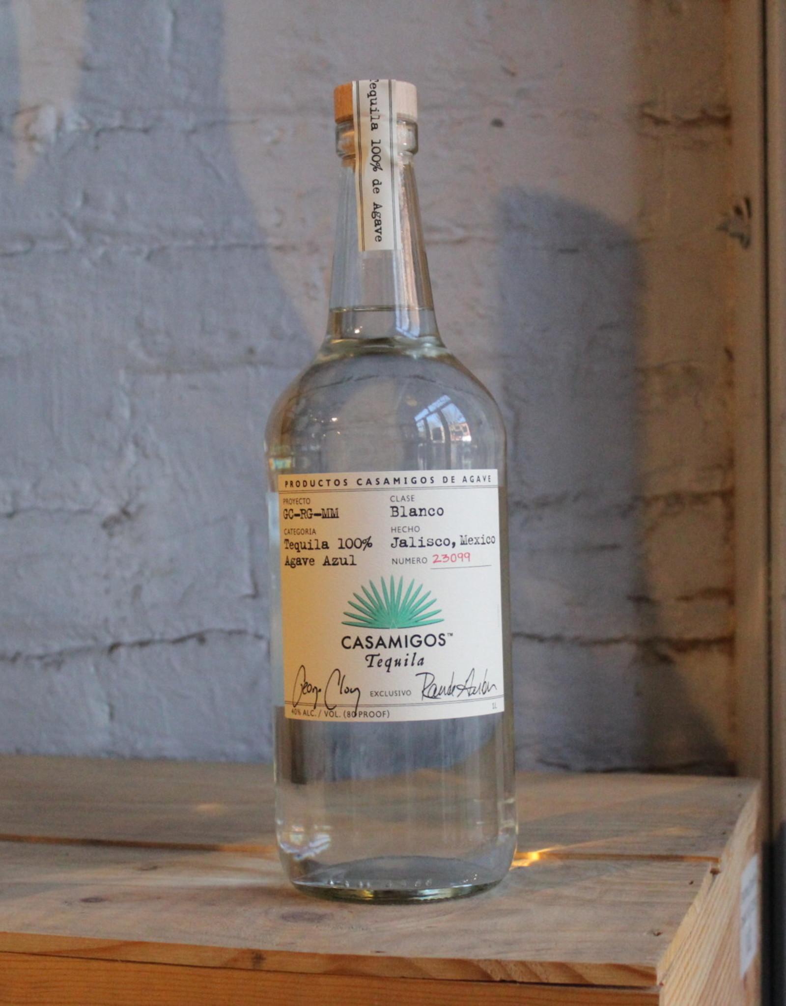 Casamigos Blanco 100% Blue Agave Tequila - Jalisco, Mexico (1Ltr)