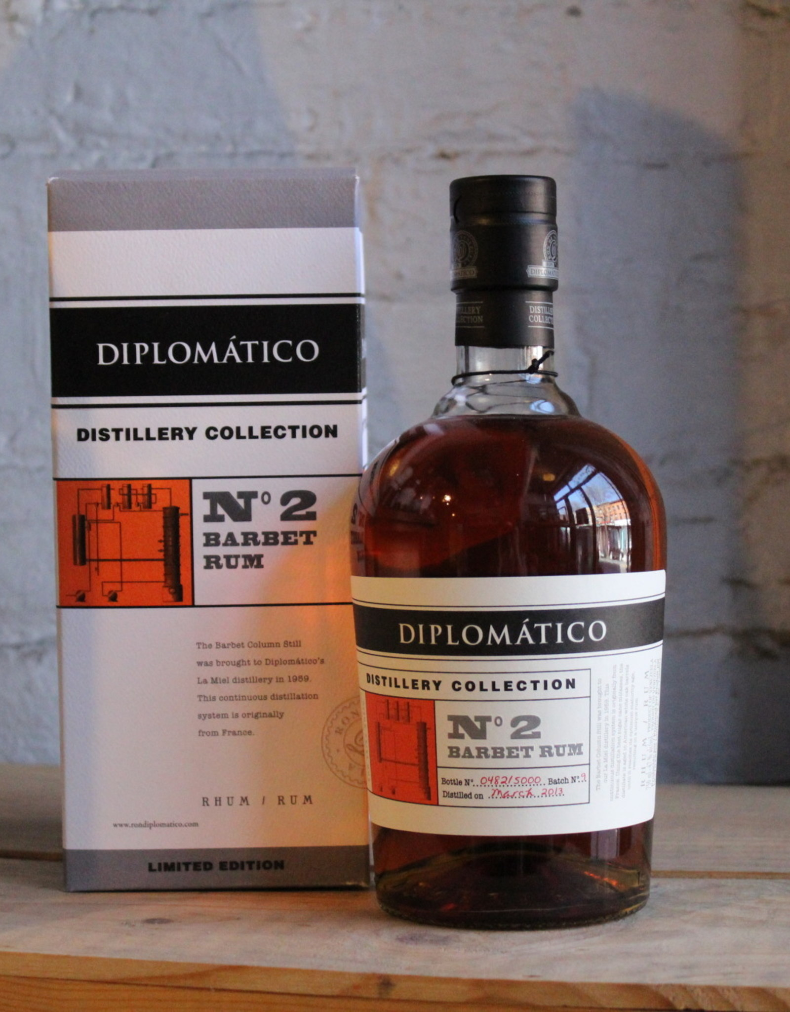 Diplomatico N°2 Barbet Rum 94 Proof - Venezuela (750ml)