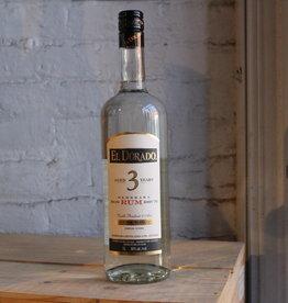 El Dorado 3 Yr Old White Demerara Rum - Guyana (1Ltr)