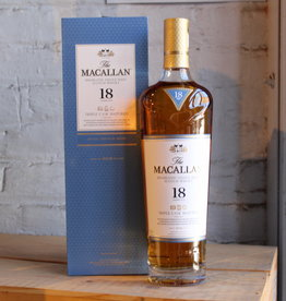 The Macallan 18yr Triple Cask Single Malt Scotch Whisky - Speyside, Highland, Scotland (750ml)