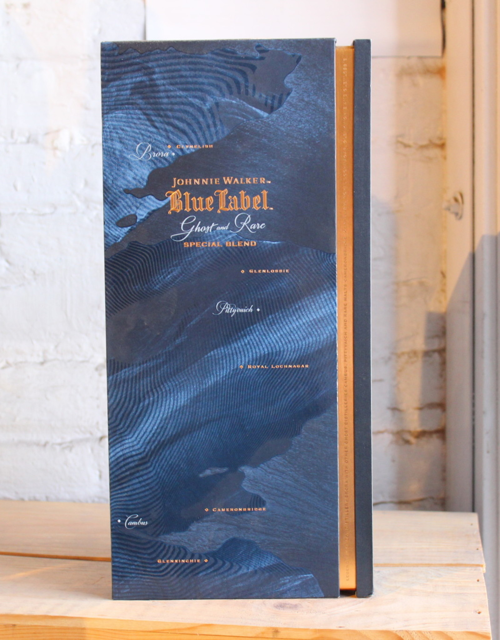 Johnnie Walker Blue Label Ghost & Rare Blended Whisky- Scotland (750ml)