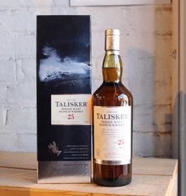 Talisker 25yr Single Malt Scotch Whisky - Isle of Skye, Scotland (750ml)