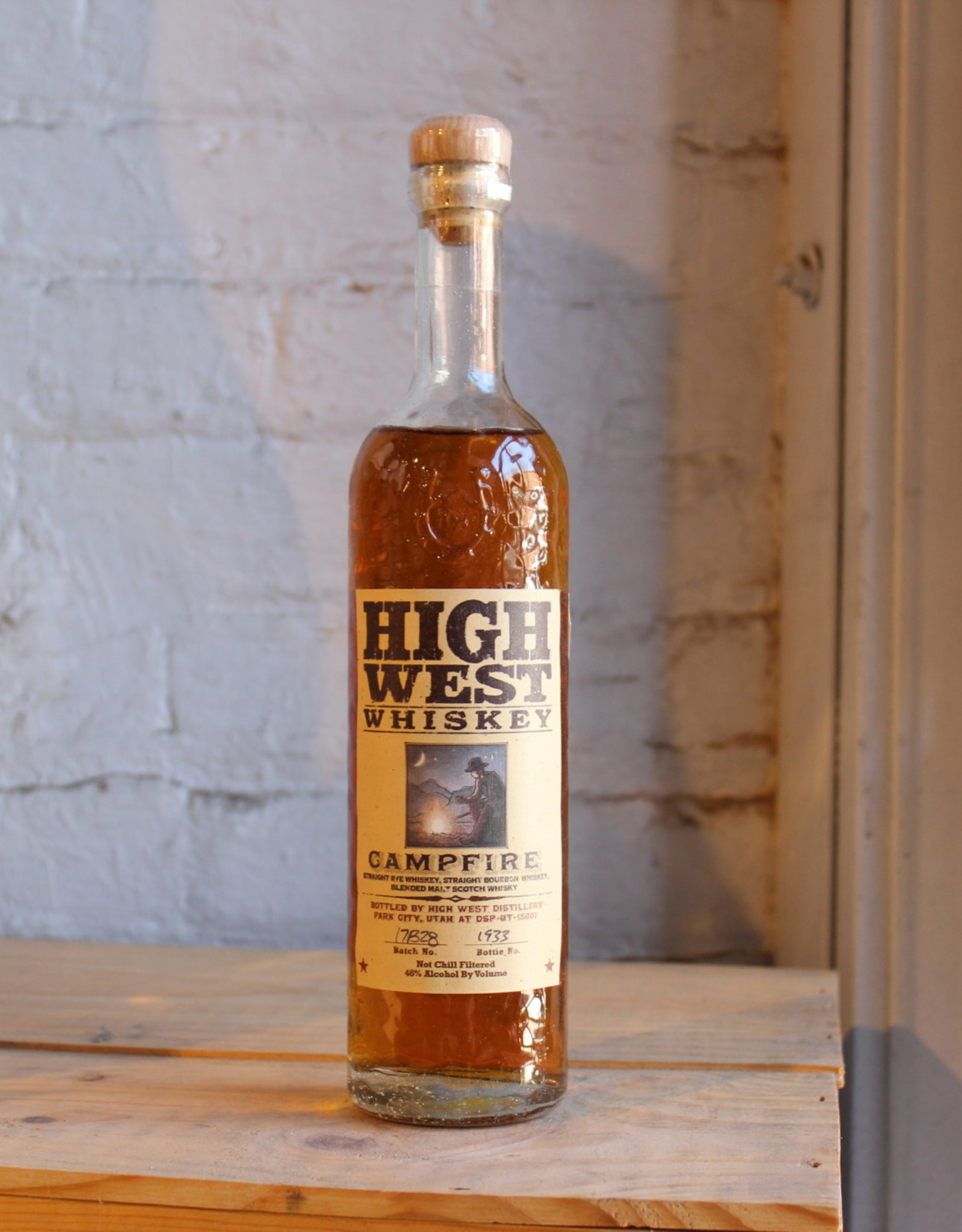 High West Campfire Whiskey - Park City, Utah (375ml)