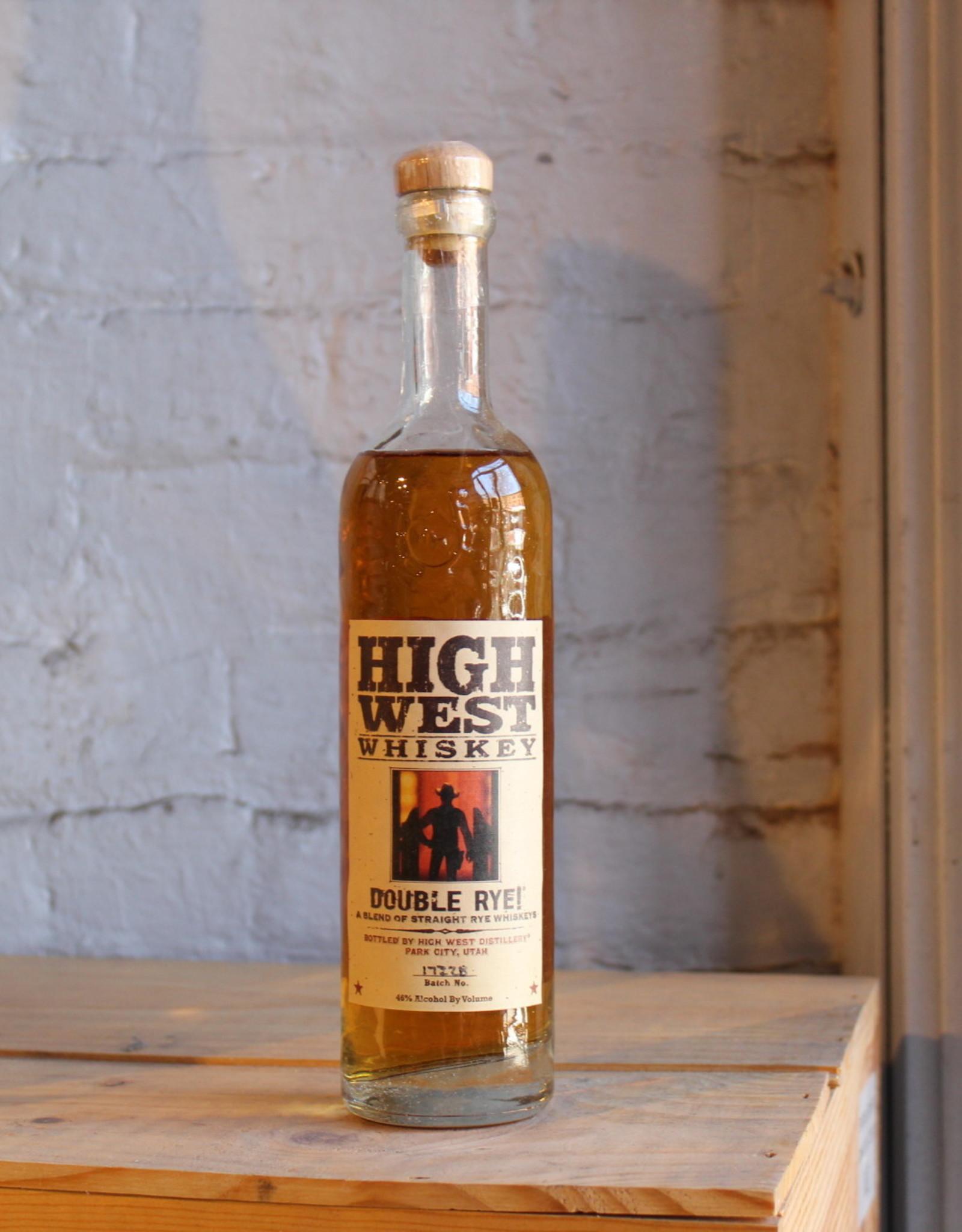 High West Double Rye Whiskey - Park City, UT (375ml)