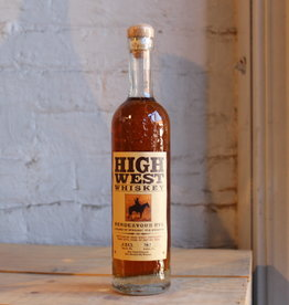 High West Rendezvous Blend of Straight Rye Whiskies - Park City, Utah (375ml)
