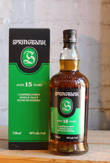 Springbank 15yr Single Malt Scotch Whisky - Campbeltown, Scotland (750ml)
