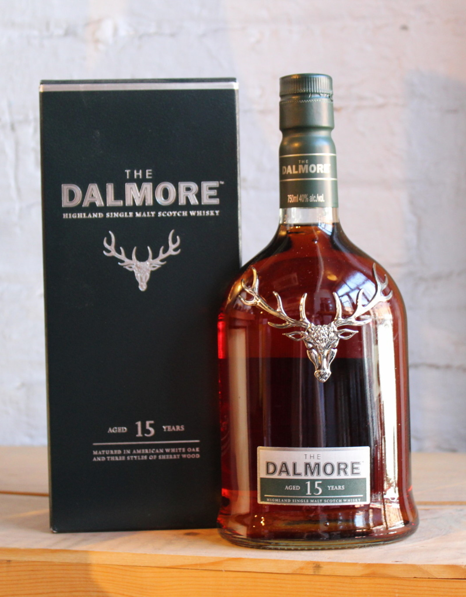 The Dalmore 15yr Single Malt Scotch Whisky - Highlands, Scotland (750ml)