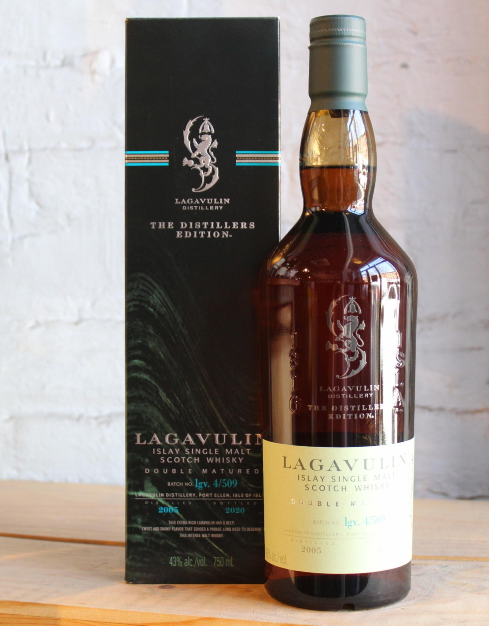 Lagavulin 2005 Distiller's Edition Double Matured 15yr Single Malt Scotch Whisky - Islay, Scotland (750ml)