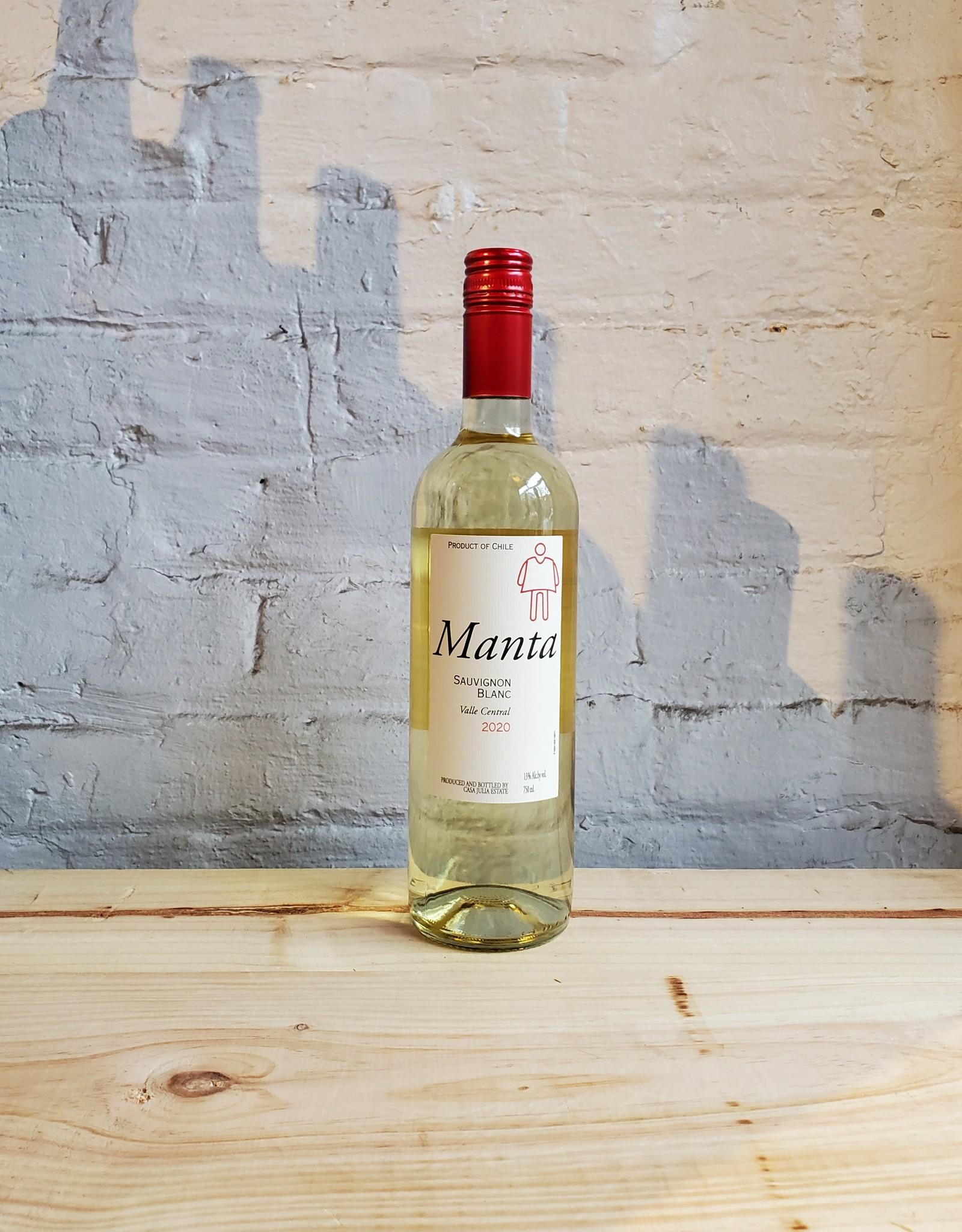 Wine 2020 Manta Sauvignon Blanc - Central Valley, Chile (750ml)