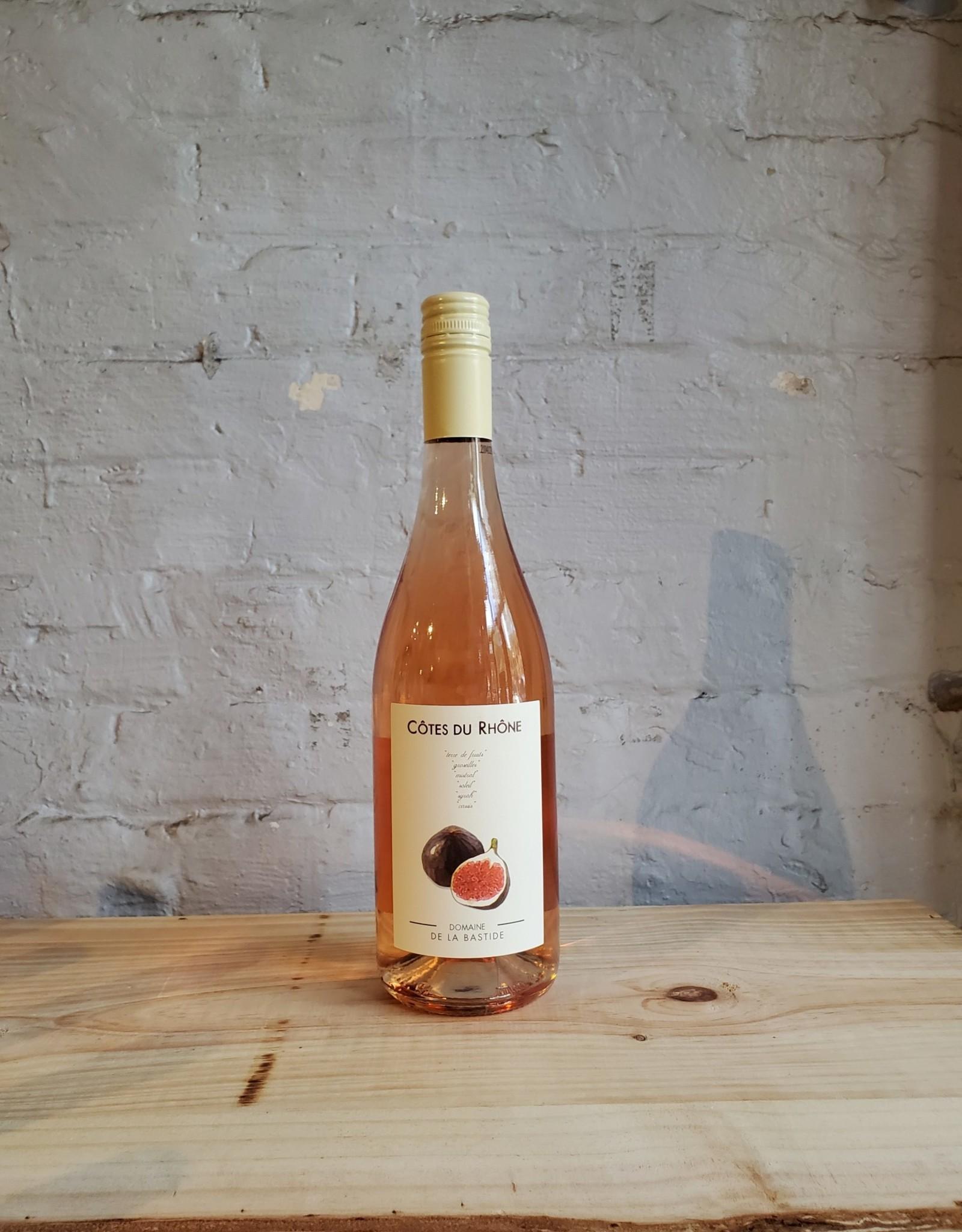 Wine 2020 Domaine de la Bastide 'Figue' Rose - Cotes du Rhone, France