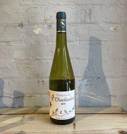 Wine 2018 Chéreau Carre Château l'Oiselinière de la Ramée Muscadet Sèvre et Maine sur Lie - Loire Valley, France (750ml)