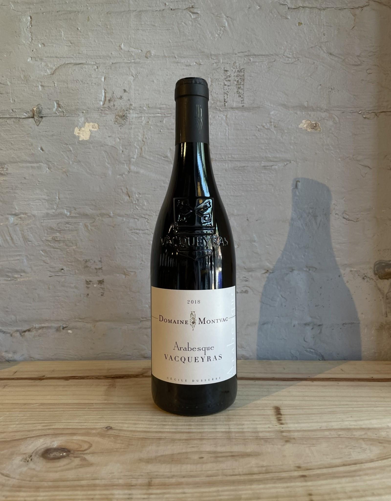 Wine 2018 Domaine de Montvac Arabesque - Vacqueyras, Rhone Valley, France (750ml)