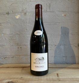 Wine 2016 Domaine Meix Foulot Mercurey Rouge - Burgundy, France (750ml)