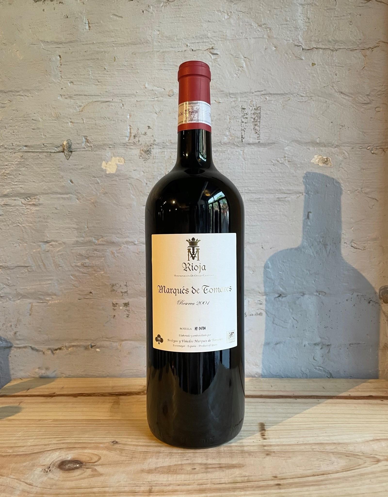 Wine 2001 Marques de Tomares Reserva - Rioja, Spain (1.5L Magnum)