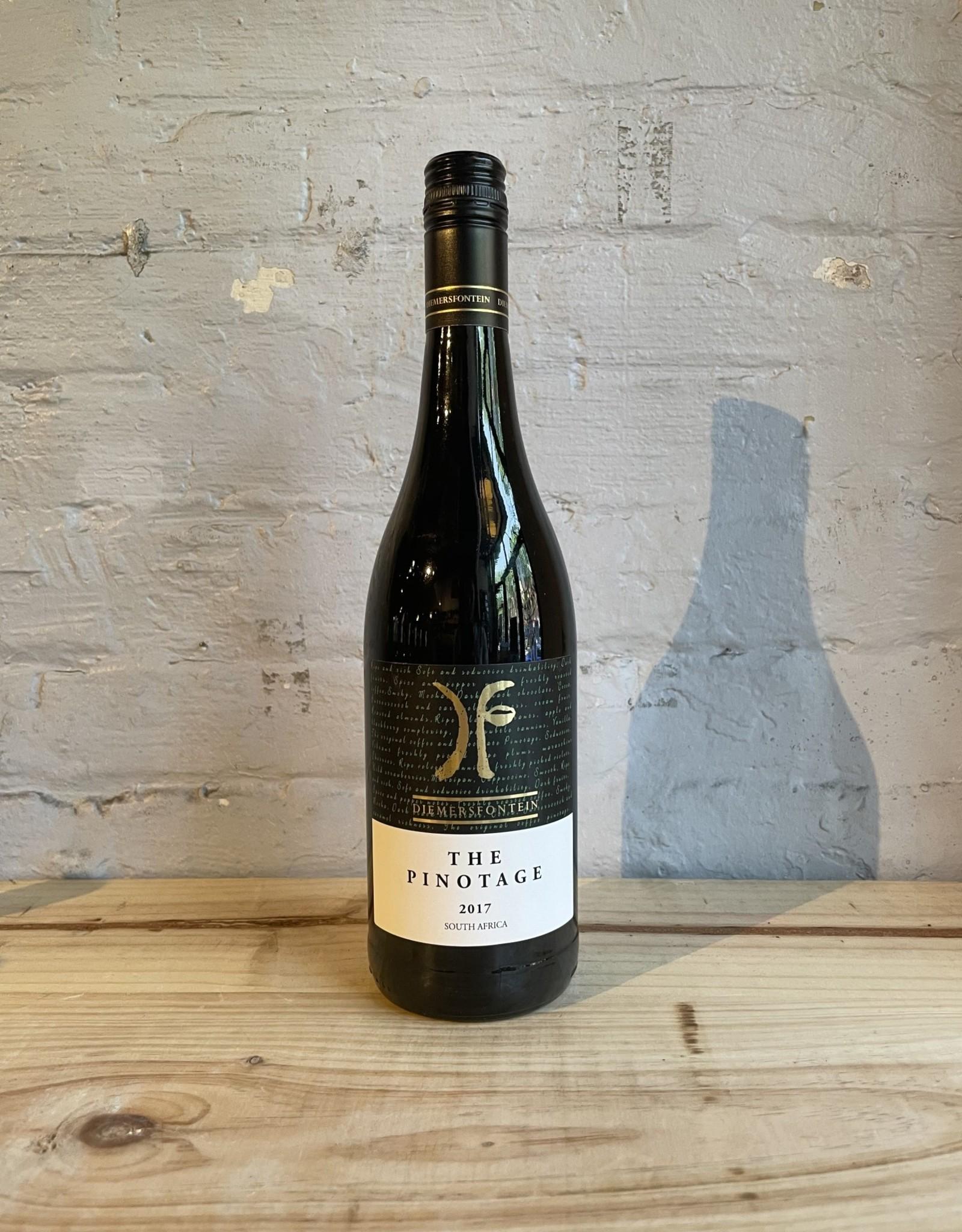 Wine 2017 Diemersfontein Pinotage - Wellington Valley, Western Cape, South Africa (750ml)