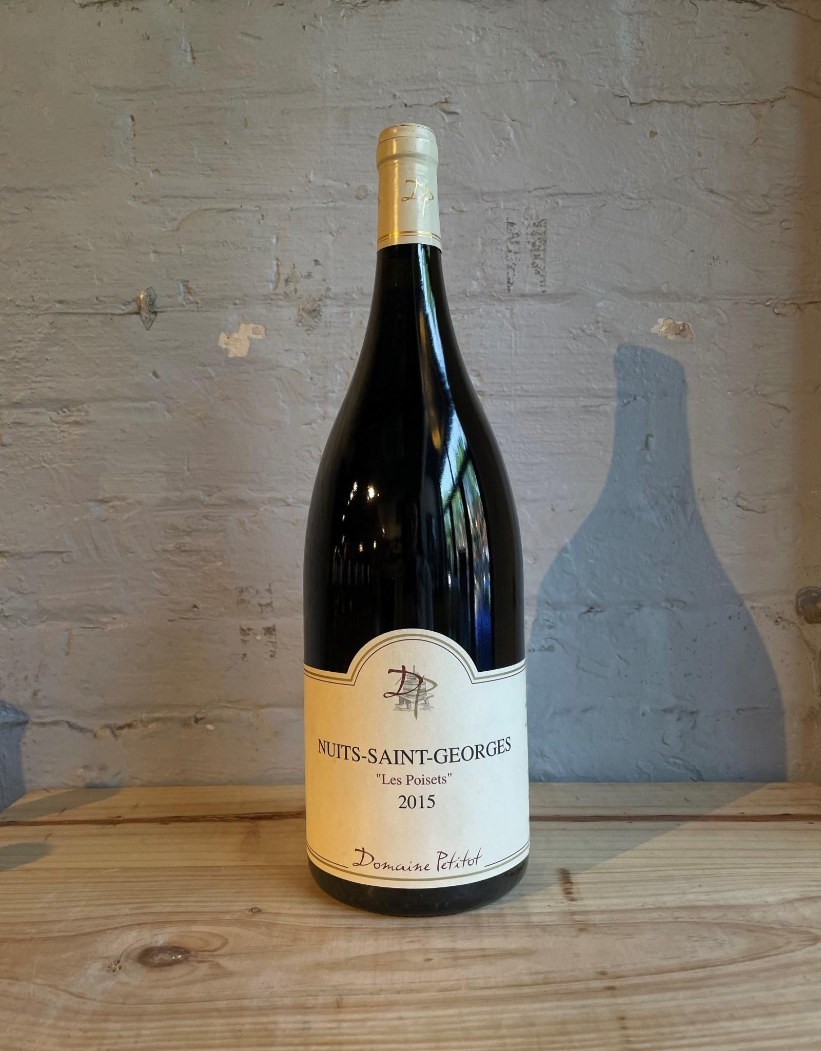 Wine 2015 Domaine Petitot Nuits-Saint-Georges Les Poisets - Burgundy, France (1.5L Magnum)