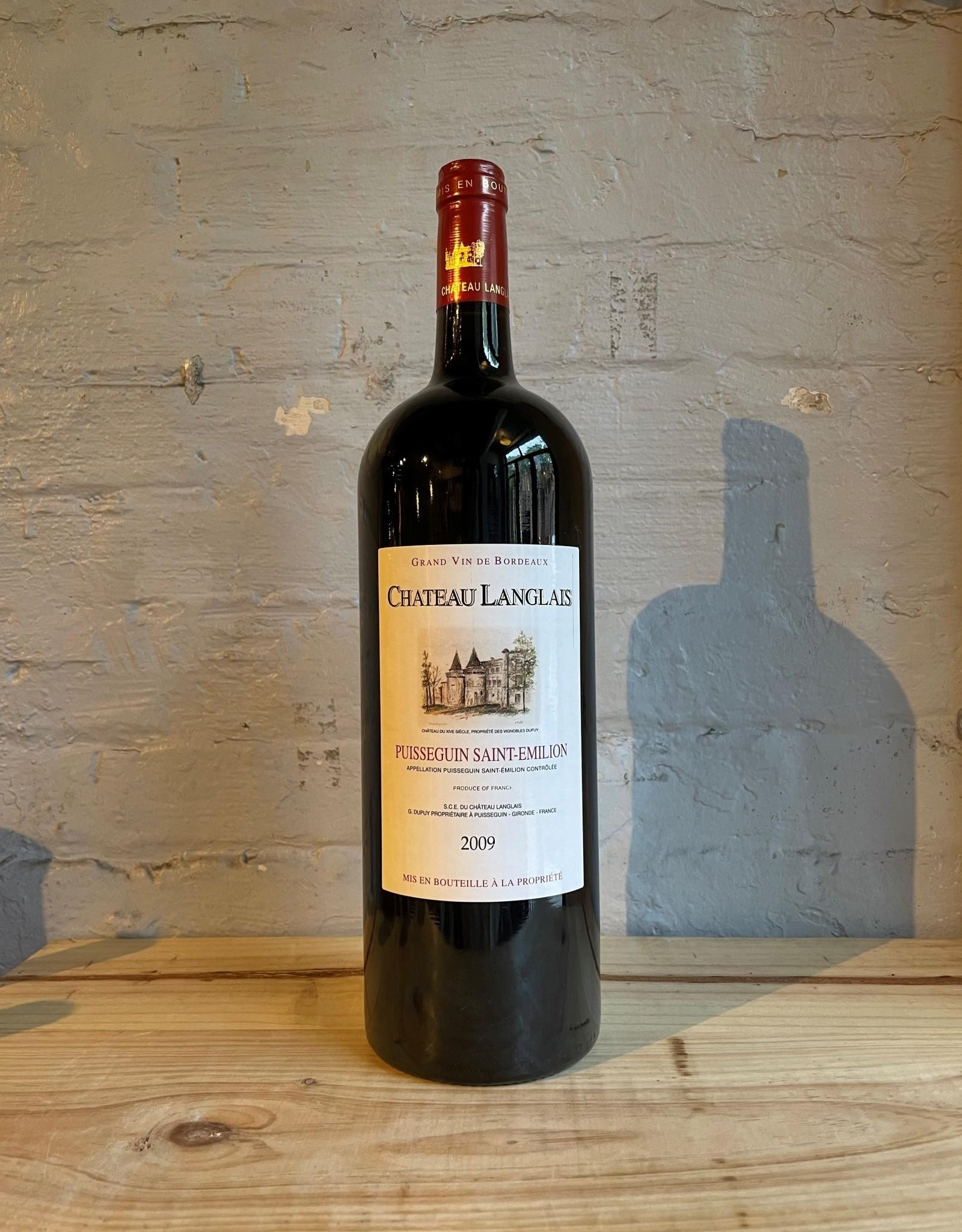 Wine 2009 Chateau Langlais Puisseguin Saint-Emilion - Bordeaux, France (1.5Ltr Magnum)