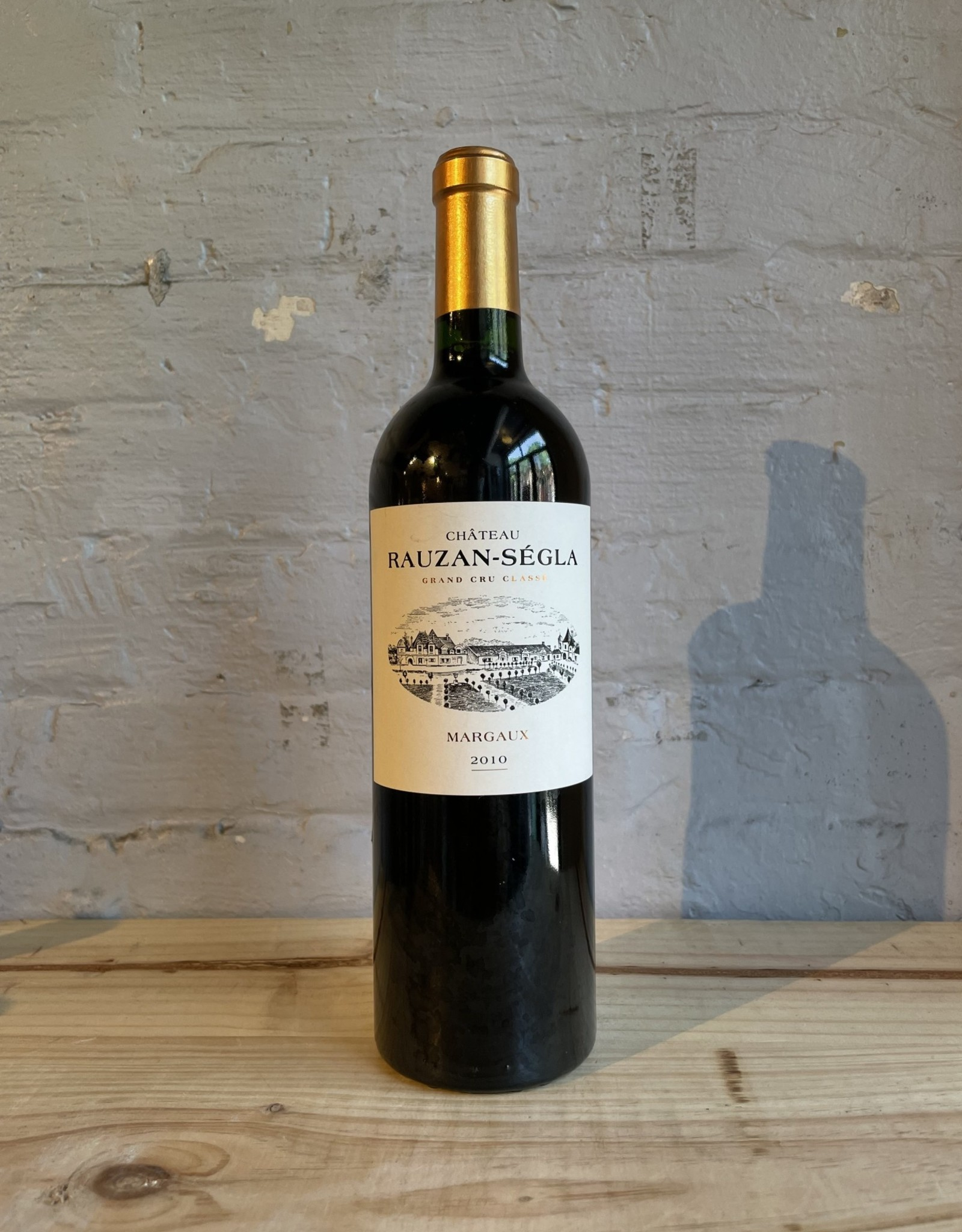 Wine 2010 Chateau Rauzan-Segla Margaux - Bordeaux, France (750ml)