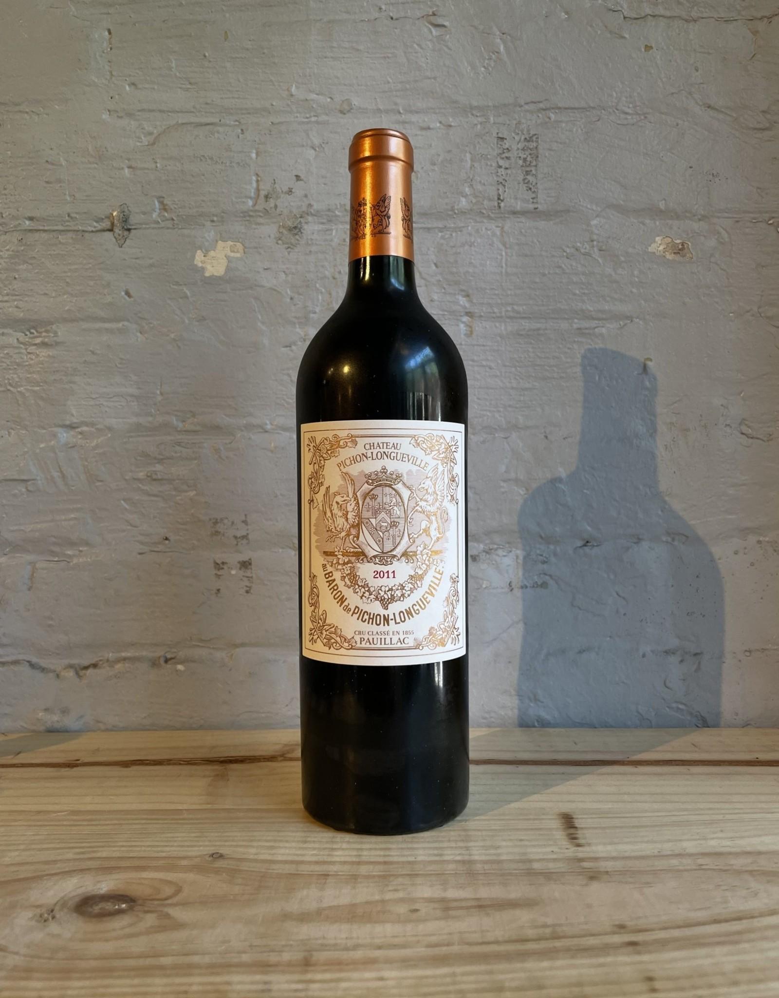 Wine 2011 Chateau Pichon Longueville Baron Pauillac - Bordeaux, France (750ml)