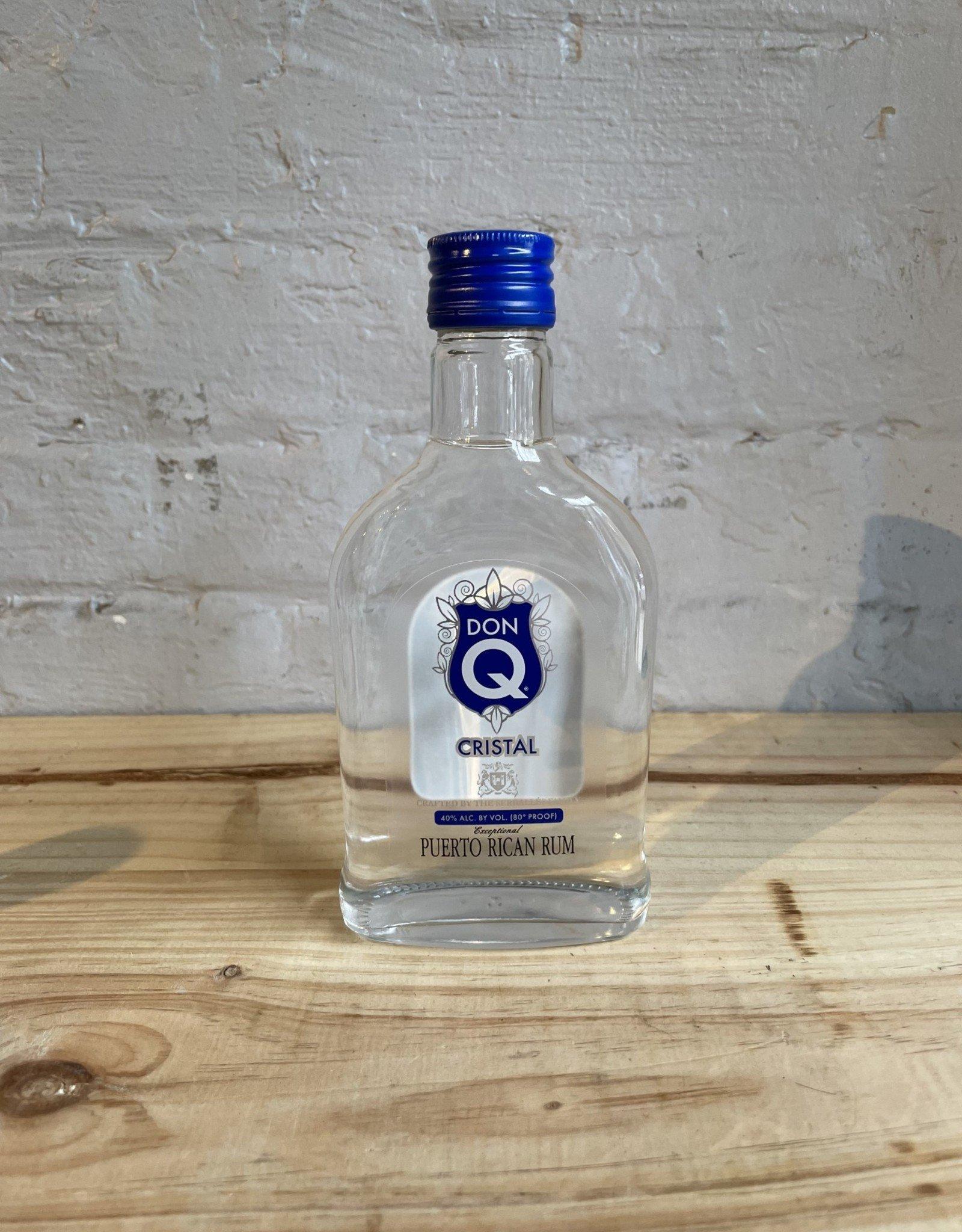 Don Q Cristal White Rum - Puerto Rico (200ml)