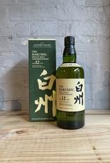 Suntory Hakushu 12yr Single Malt Whisky - Japan (750ml)