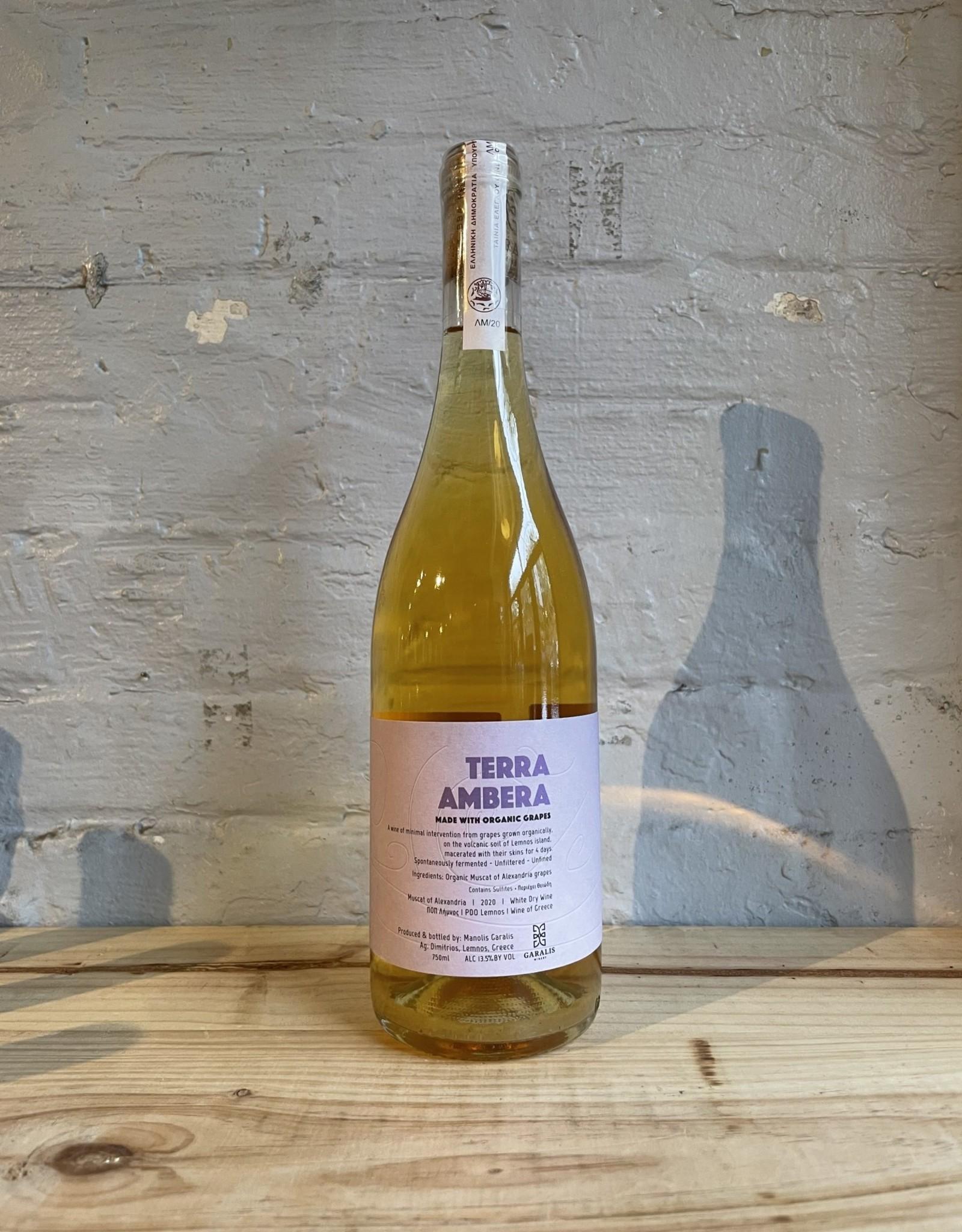 Wine 2020 Garalis Terra Ambera Muscat d'Alexandria - Lemnos, Greece (750ml)