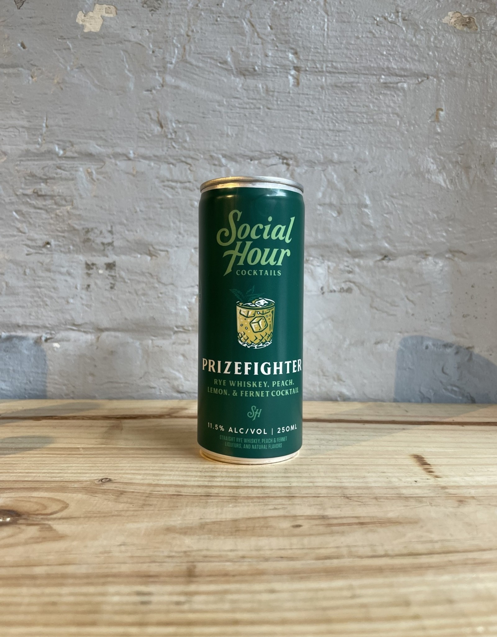Social Hour Prizefighter Cocktail - Brooklyn, NY (250ml)