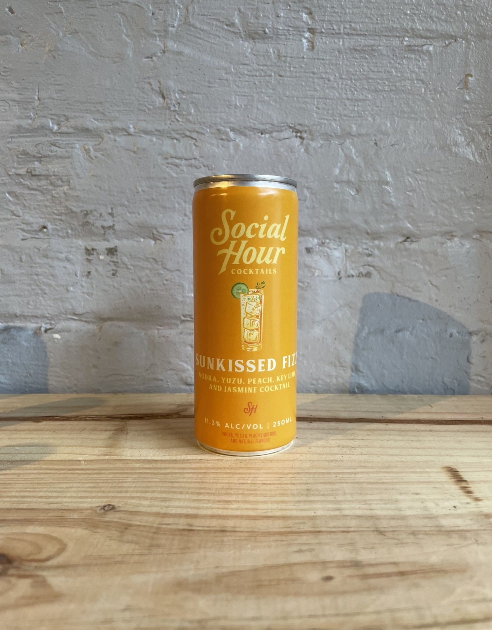 Social Hour Sunkissed Fizz - Brooklyn, NY (250ml)