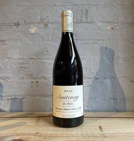 Wine 2019 Domaine Billard Père et Fils Santenay Les Hates - Burgundy, France (750ml)