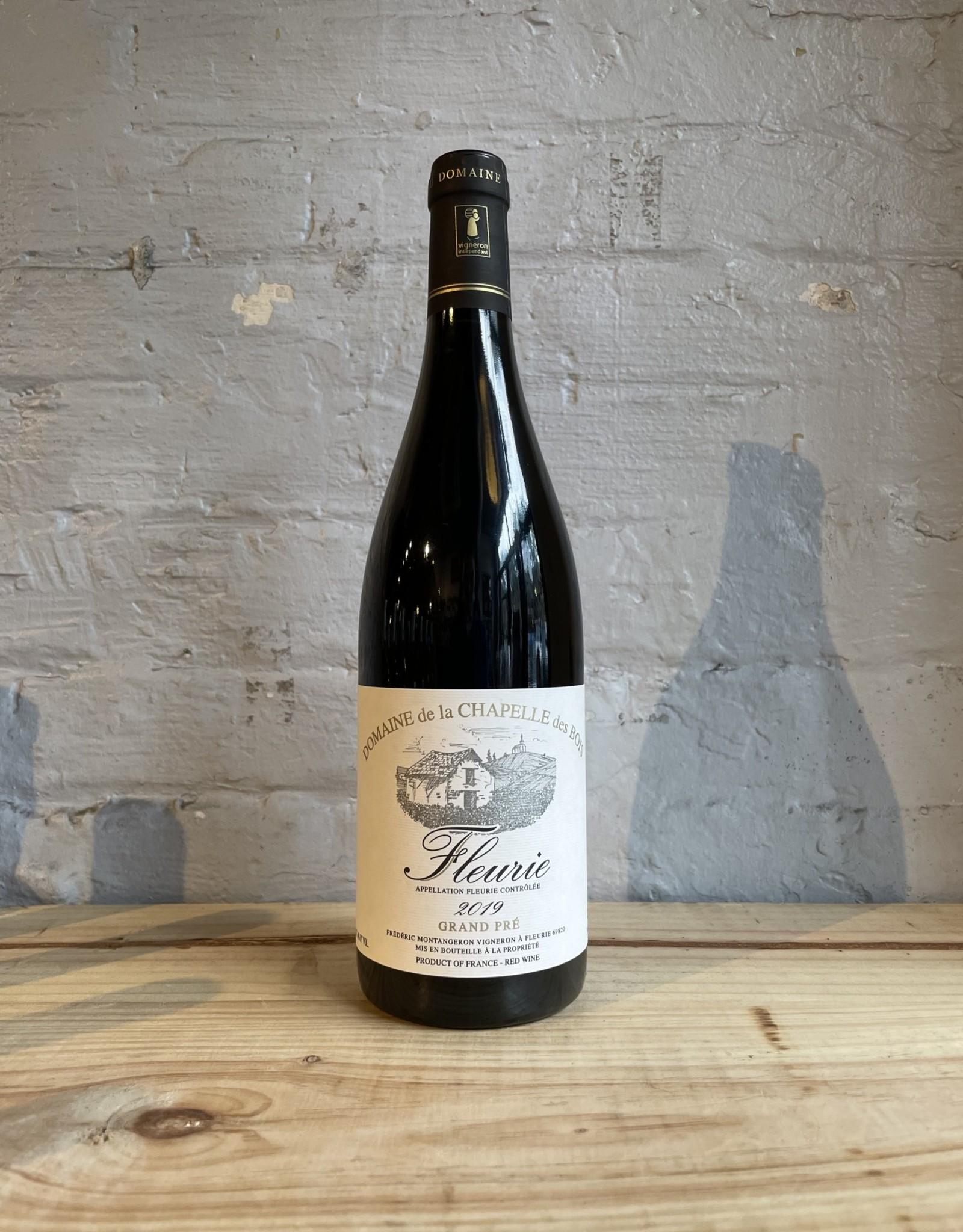 Wine 2019 Domaine de la Chapelle des Bois Fleurie Cuvee Grand Pre - Beaujolais, France (750ml)