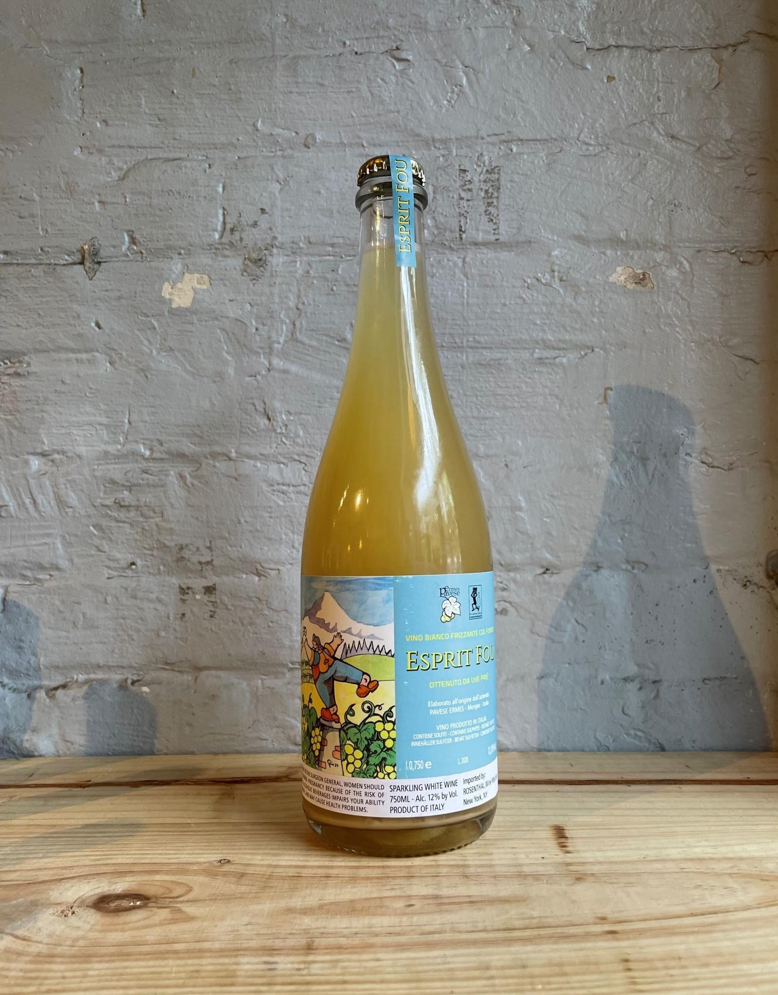Wine NV Ermes Pavese Esprit Fou Vino Bianco Frizzante Col Fondo - Vallee d'Aoste, Italy (750ml)