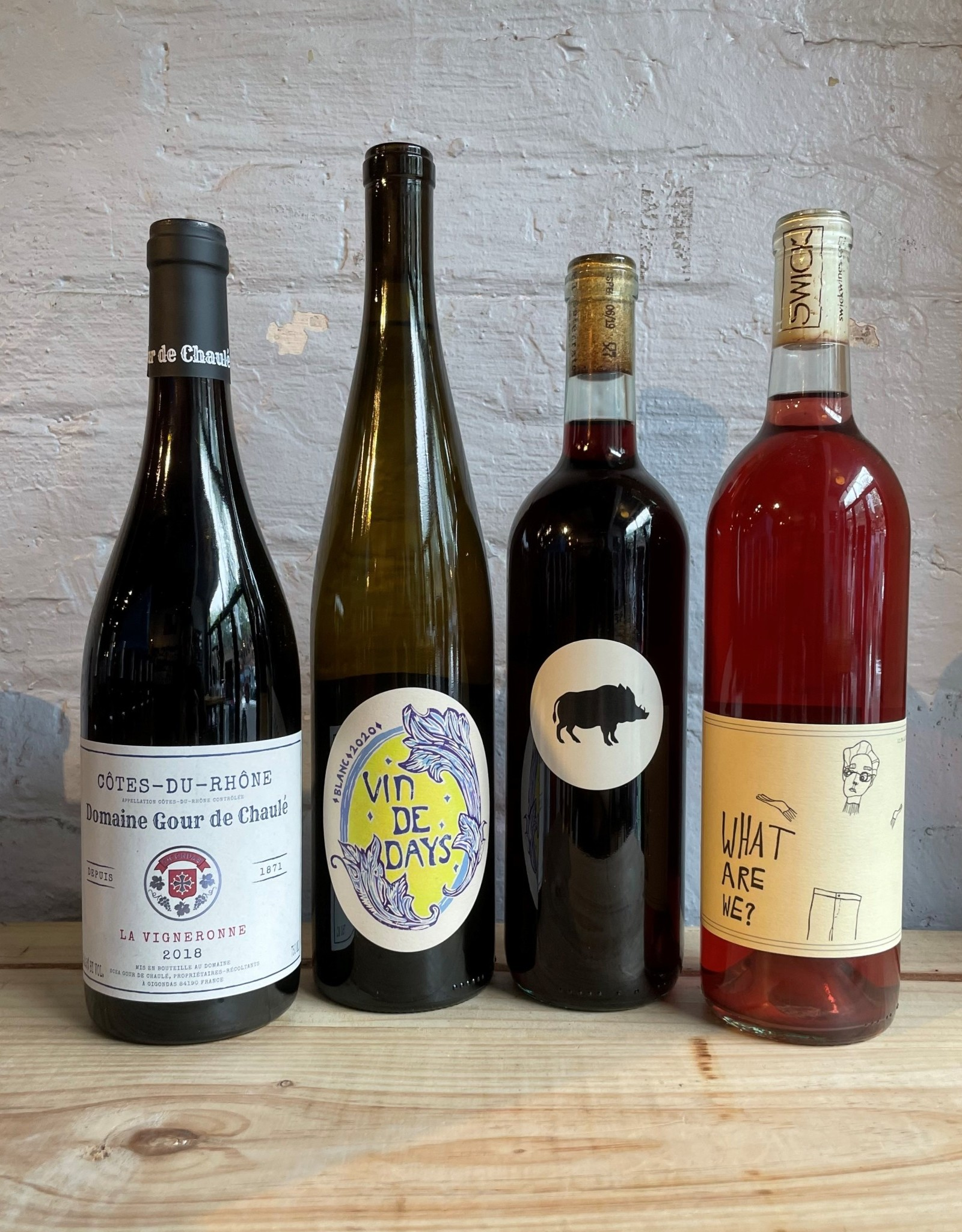 Wine Gnarly September 2021 Wine of the Month Club Four Pack