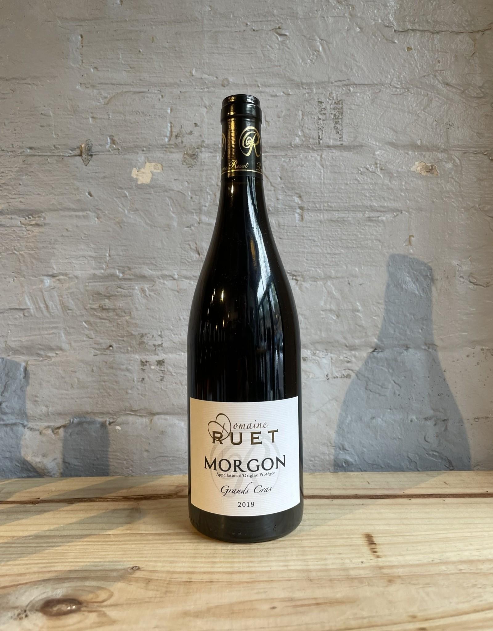 Wine 2019 Domaine Ruet Morgon Les Grands Cras - Beaujolais, France (750ml)