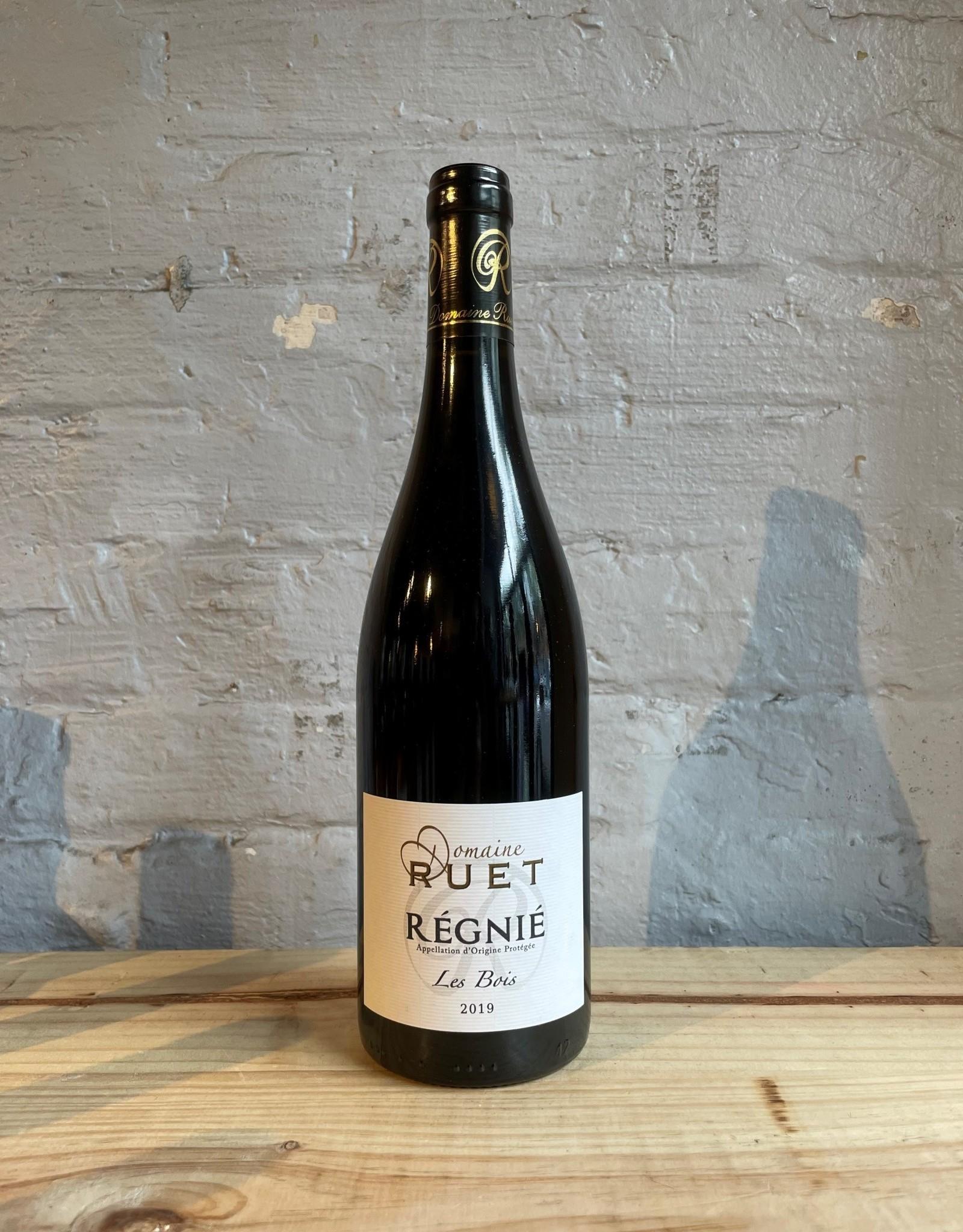 Wine 2019 Domaine Ruet Régnié Les Bois - Beaujolais, France (750ml)