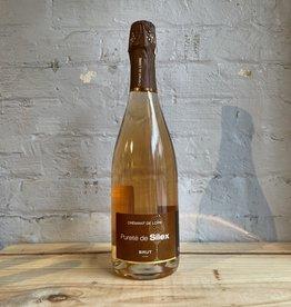 Wine NV Clos de la Briderie, Crémant de Loire Brut Pureté de Silex Rosé, Loire Valley, France (750ml)