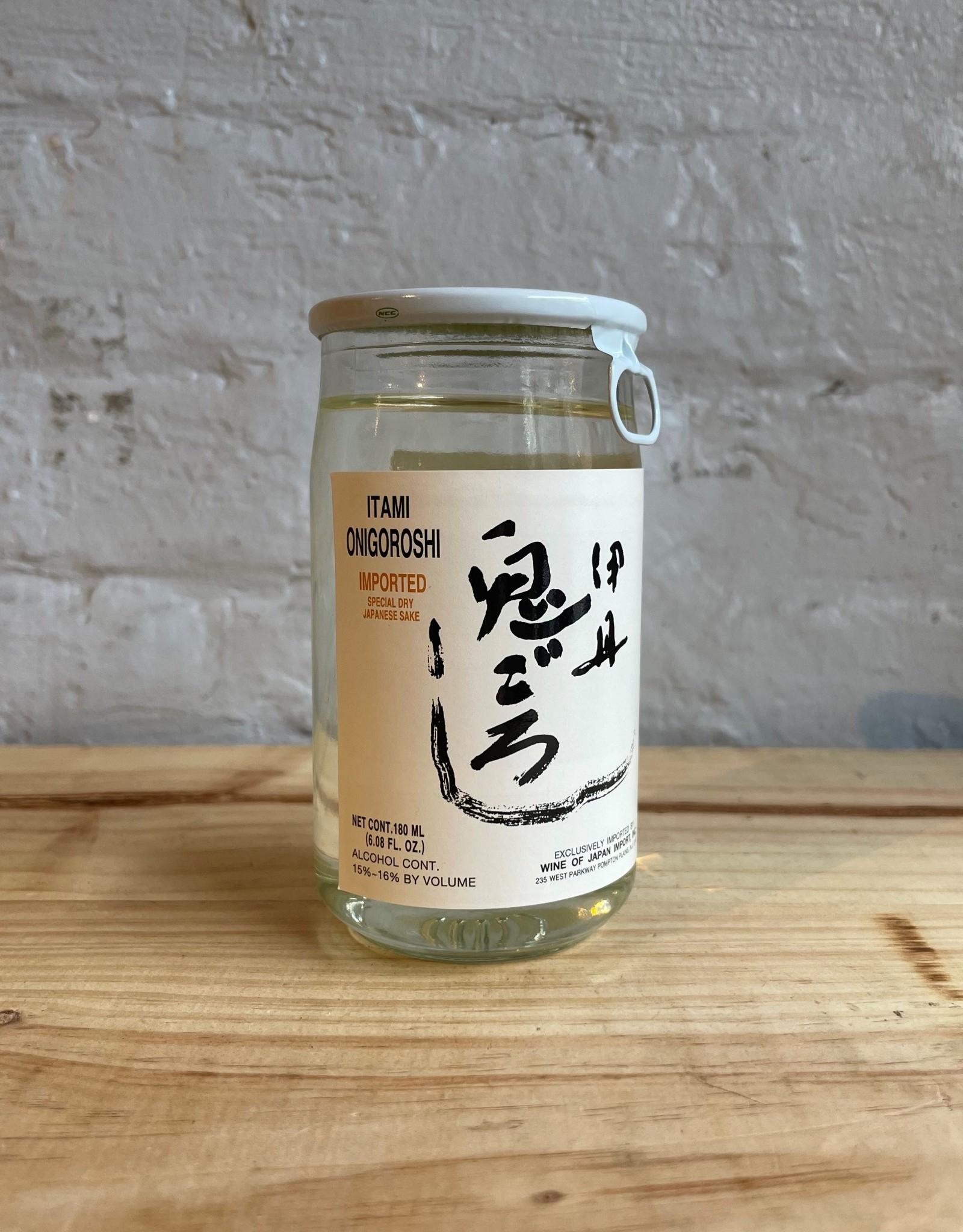 Sake & Shochu Itami Onigoroshi Cup Sake - Hyogo, Japan (180ml)