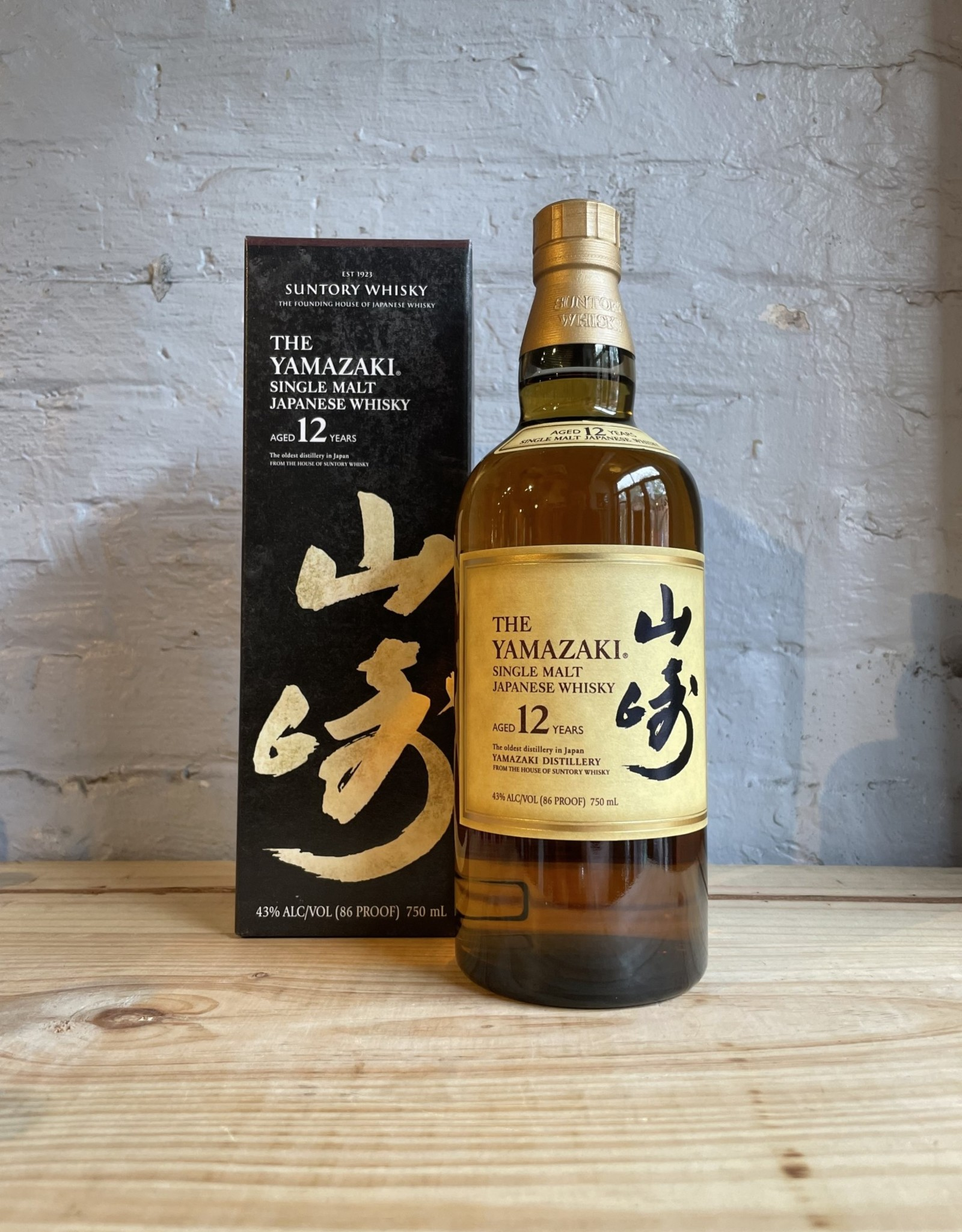 Suntory The Yamazaki 12yr Single Malt Whisky - Japan (750ml)