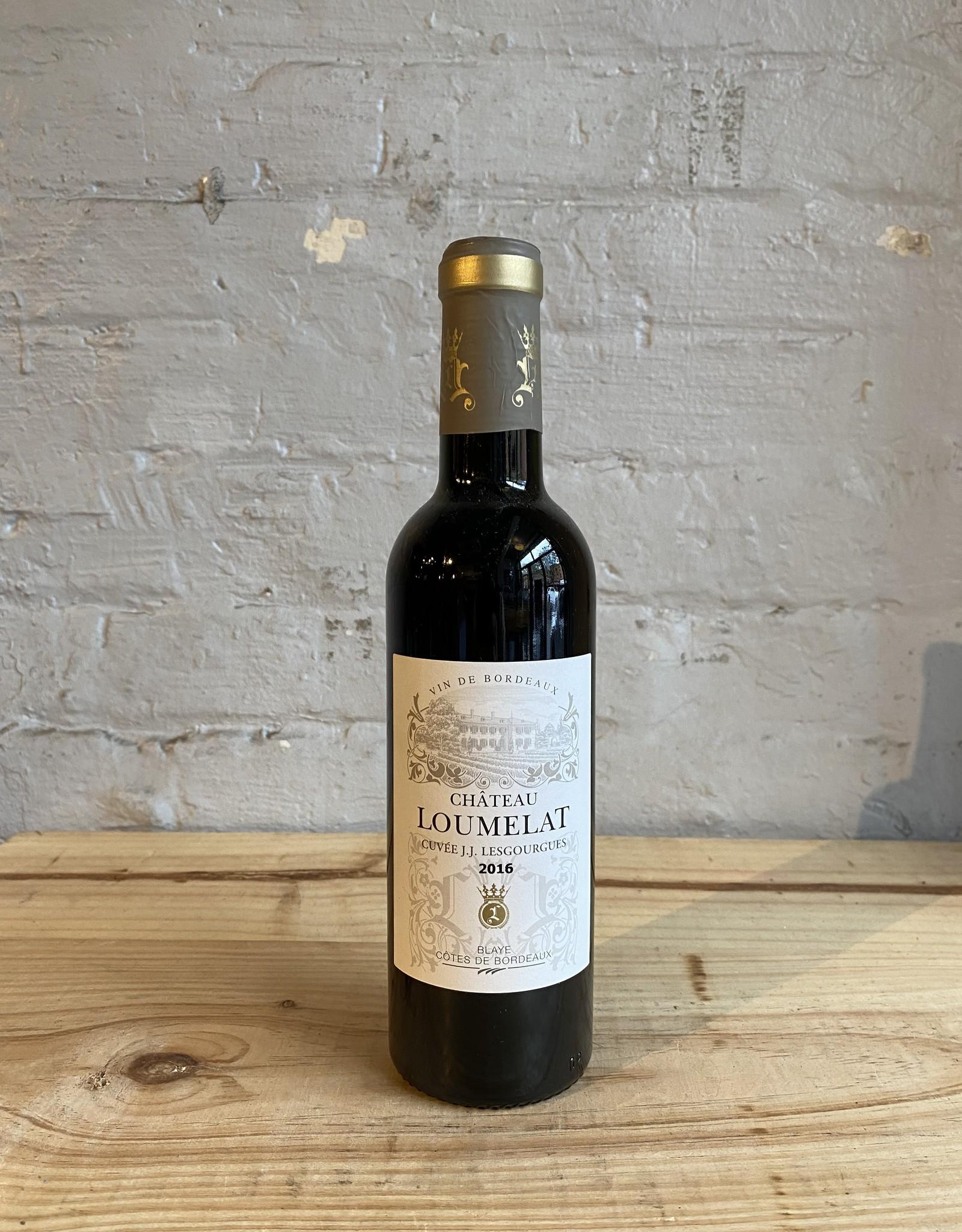 Wine 2016 Château Loumelat Cuvee J.J. Lesgourgues - Bordeaux, France (375ml)