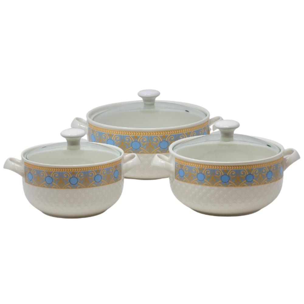 3PCS Ceramic Serving Dish