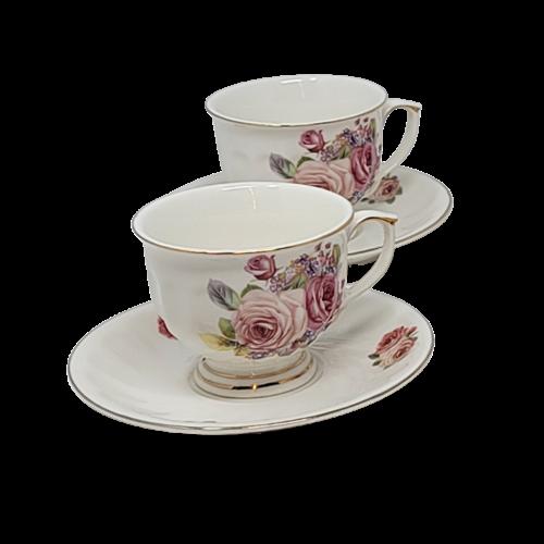 12Pcs Tea Set- Floral