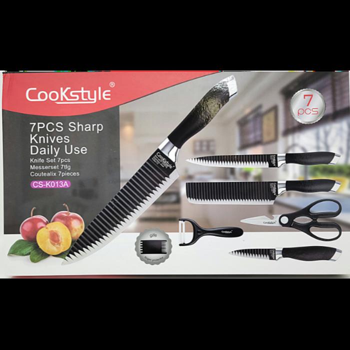 COOKSTYLE 7Pcs Knife Set