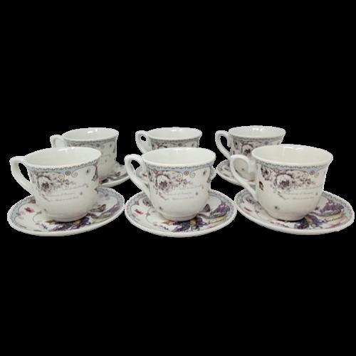 12Pcs Ceramic Tea Set