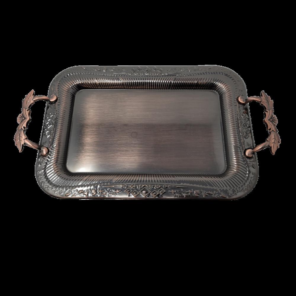 2Pcs Serving Tray Set/ Copper