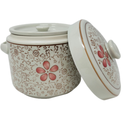 Ceramic Canister - Red