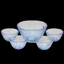 5Pcs Glass Bowl Set