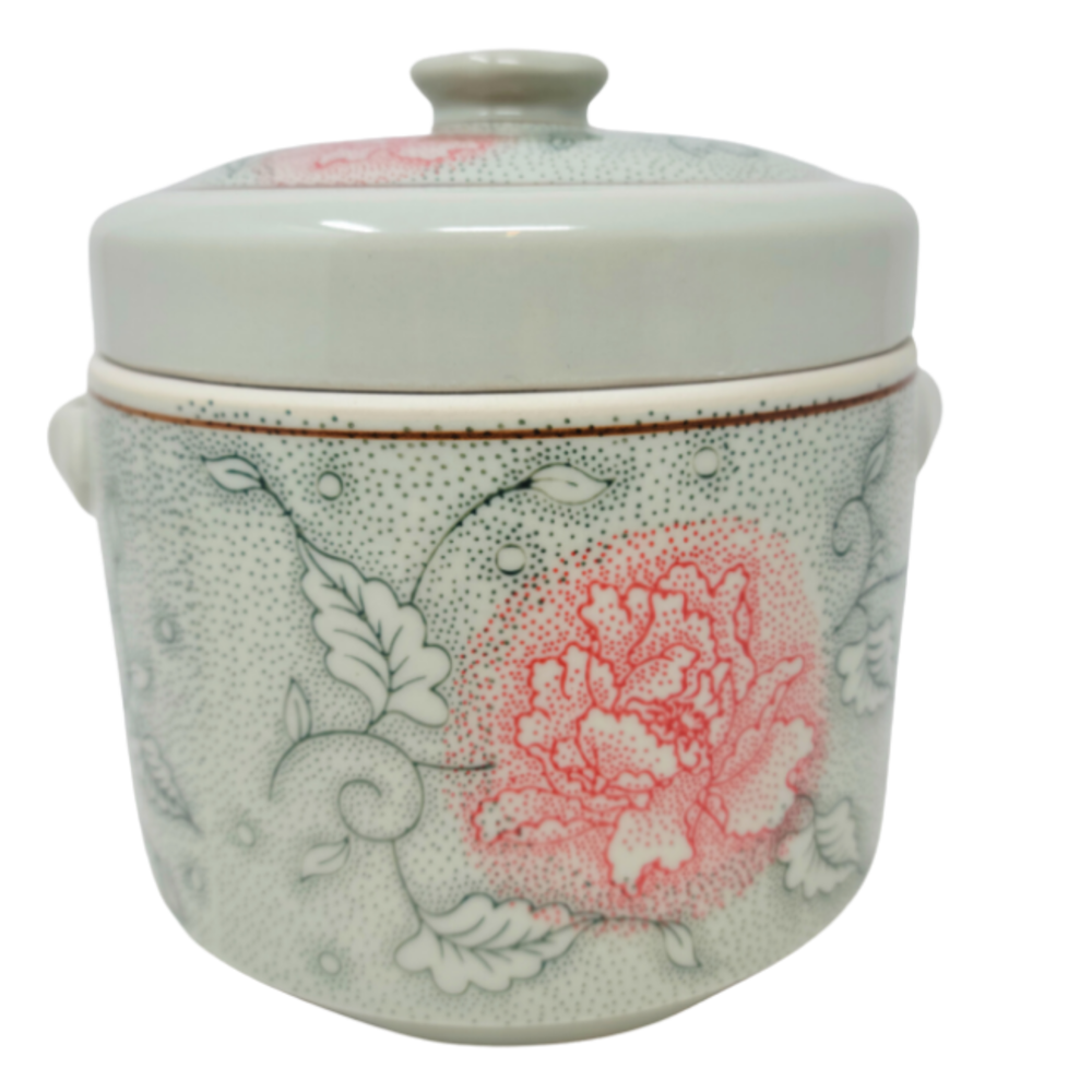 Ceramic Canister - Green