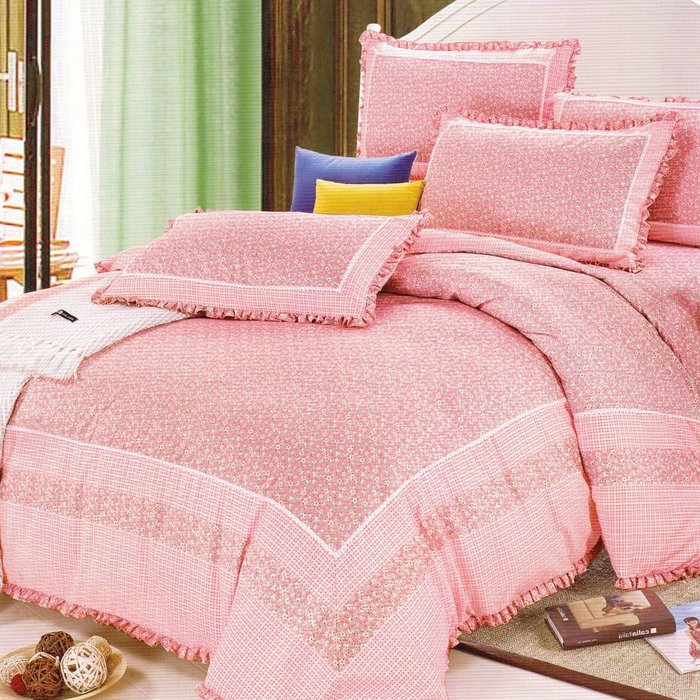 4Pcs Korean- Style Duvet Set