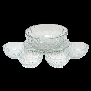 Deli Glassware  - 6Pcs Glass Bowl Set
