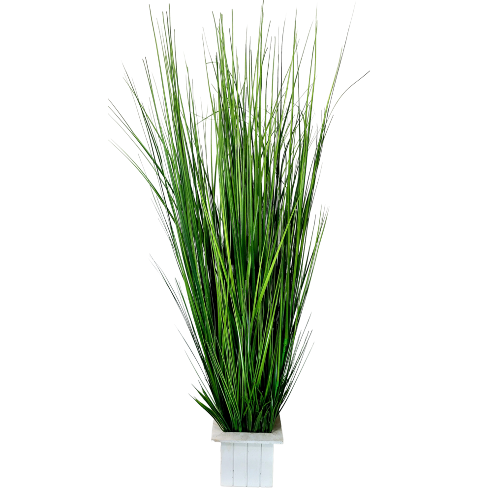Tall Artificial Grass Plant with Pot